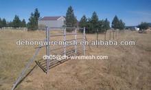 Cattle/Goat/Sheet fence panels square tube 6 bars livestock panels for sale