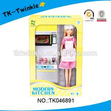 kid toy mini kitchen toy with doll play kitchen toy