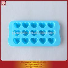 Cute FDA heart shape silicone cake mould & bakeware