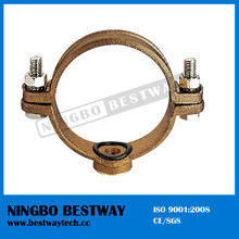 Pipe clamp Bronze saddle clamp