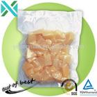 Vacuum seal bags with three side/food packaging plastic bag for fruit juice