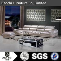 Baochi teak boat furniture,moroccan style sofa,with leather bar stool A165