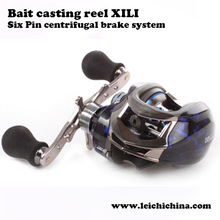 Stock available aluminum spool low profile fishing bait casting reel
