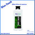 el servicio del oem antisépticas del aceite de oliva esencia body wash gel de ducha para el cuidado de la piel 200ml