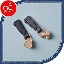 ring zipper pull/Newest style cute locking zipper pull
