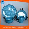 ceramic color glazed Dinnerware sets