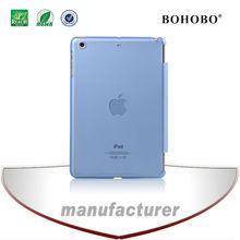 BOHOBO tablet covers & cases,crystal matt PC hard case for Ipad mini2