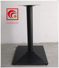 Cast iron table foot, cast iron Coffee table leg, wrought iron furniture table chassis