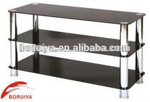 living room furniture shelf modern glass shelves corner stand