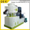 Vertical ring die wood pellet machine ,pellet press 1.5-2T/Hour TYJ550-II with Automatic lubrication