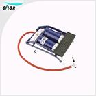 Tyre pressure gauge and portable inflator pump