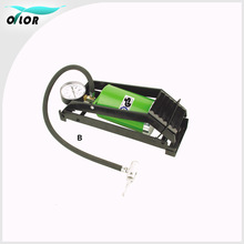 Portable Foot Operated Cylinder Tire Pump Inflator for Basketball Bicycle Bike