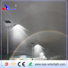 No.1Ranking Manufacturer among hot sell list Effect Equal To 250W HPS Lamp 60W LED Solar Street Light