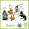 Stock promotion gift frog keychains