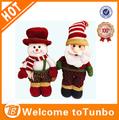 2014 de navidad hecho a mano muñecas de animación animada standa un muñeco de nieve muñecas