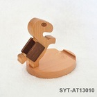 Wholesale wooden material desk cell phone holder