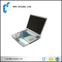 custom cnc machining laptop computer plastic case model in china