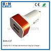 New product hot sale 5V 2A dual USB portable car charger portable charger car charger