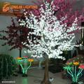 Led 1536 2.5m alta led azaléia da árvore de luz/natal led branco com flores da árvore