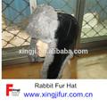 de piel de conejo de piel de aviador sombreros