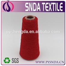 super workmanship eco-friendly soft cotton yarn price handicraft yarn