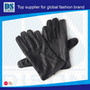 Warm custom winter gloves genuine nappa leather protect hands from cold