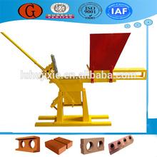 Top sale Surpass 2000 clay brick making machine price, low investment block making machine