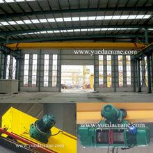 LDP Model Single Beam Overhead Crane,low headroom workshop use