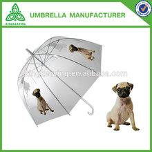fashion POE dog print umbrella
