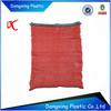 Knitted plastic mesh bag