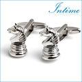 novità internatinal scacchi in metallo mens set gemello per camicie