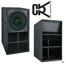 professional neodymium magnet big power speaker 21 inch bass bin