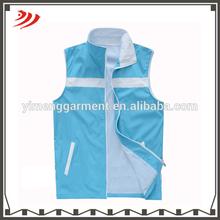 blue mesh massage cool safety vest