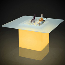 led cube lighting table & led cube bar table