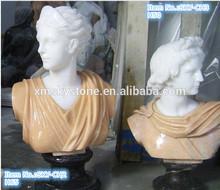 les femmes buste en marbre poli