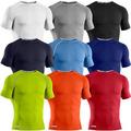 top venta de los hombres desgaste de la compresión de compresión camisetas