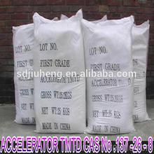 Dissulfeto de tetrametiltiuram borracha do acelerador tmtd( tt) cas. 137-26-8