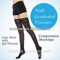 Anti Slip Nylon Anti Embolism Stockings