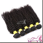 2014 new style free shipping 3 pieces lot 18inch kinky curly virgin peruvian hair