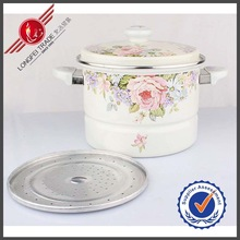 New 2014 24CM Ceramic Handle And Knob Porcelain Enamel Cookware