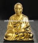 Pure silver & 24k gold Buddha