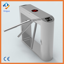 Stainless steel security turnstile gate for sports and entertainment venues