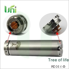 Best quality!!! Mechanical Mod tree of life charms fit for 18350,18500,18650 battery