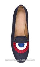Custom men top brand men leather shoe
