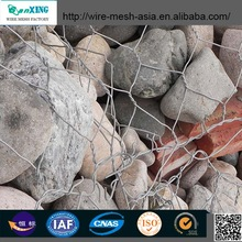 Hotgalvanized aluminum box /cage /alloy gabion mesh or PVC coated gabion mesh /netting From anping
