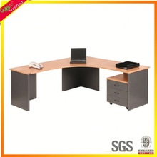 Panel furniture cherry wood executive desk,office manager desks