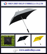 Beloved shape funny Windproof Square Golf Umbrella wonderful items to resale