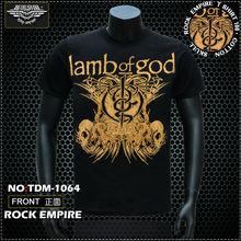 TDM1064 LAMB OF GOD T-SHIRTS 3D BAND T-SHIRTS ROCK BAND T-SHIRT 3D T SHIRT POPULAR ROCK T SHIRT