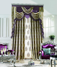 2014 new designs modern window curtain from china