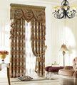 23 años de la fábrica 11 años surtidor del oro caliente venta de la tela del diseño cortina para la puerta